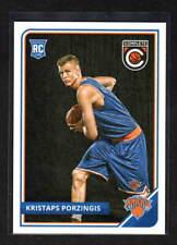 KRISTAPS PORZINGIS 2015-16 PANINI COMPLETE ROOKIE CARD NEW YORK KNICKS