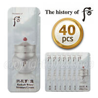[The History of Whoo] Gongjinhyang Seol Radiant White Moisture Cream 1ml x 40pcs