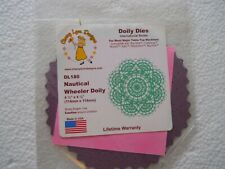 Cheery Lynn Designs DL180 Nautical Wheeler Doily