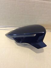 SEAT LEON 2012 ONWARDS WING MIRROR COVER R/H OR L/H SIDE IN GLOSS BLACK