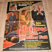 A1 Filmplakat  MAIGRET UND SEINGRÖSSTER FALL, HEINZ RÜHMANN