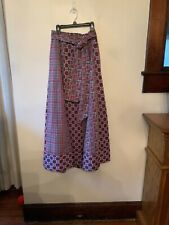 Vintage plaid maxi skirt size xs/small