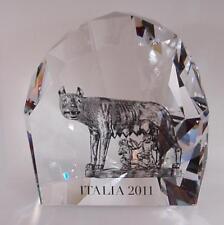 Swarovski LA LUPA DI ROMA ed limitata per i 150 anni dell'unita d'Italia -70%!!!