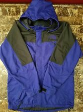 The North Face Parka Vintage 90s purple  Hoodie Light Jacket sz M rn 61661 EUC