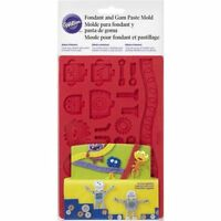 Wilton Robots and Monsters Fondant and Gum Paste Mould