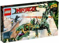 LEGO NINJAGO 70612 GREEN NINJA MECH DRAGON New sealed w 4 minifigures