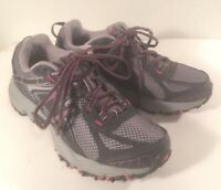 New Balance 411 V2 All Terrain Gray Pink Women's Trail Running Shoes US Size 7