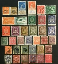 GERMANY COLLECTION OF OLD BACK OF BOOK STAMPS, 2 PICS