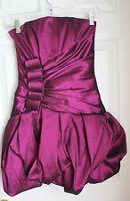 Jessica McClintock party evening coctail mini strapless dress size 2