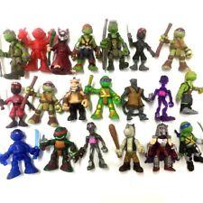 """random 5Pcs TMNT Rooftop Ruckus Battle Teenage Mutant Ninja Turtle 2"""" figure toy"""