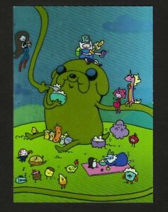 2014 CRYPTOZOIC ADVENTURE TIME KATIE COOK PUZZLE CARD KC09