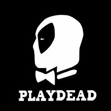 PLAY DEAD DEAD POOL Bumper Sticker Window Car Truck Decal Vinyl computer