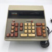 Vintage Victor Medalist 204 Calculator Japan 1970's Electric Model 204-R