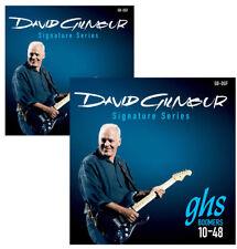 GHS David Gilmour Pink Floyd GB-DGF Boomer 10-48 Electric Guitar Strings X2 SETS