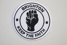 Brighton Keep The Faith Mods Scooters Patch