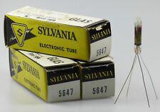 3x 5647 = cv3916 Sylvania subminiature diodo tubos/tubes/nos/NIB/new