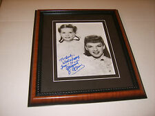 MARGARET O'BRIEN AUTOGRAPHED FRAMED PHOTO TOOTIE MEET ME IN ST LOUIS (486)
