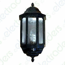 ASD HL/BK060C/LED Half Lantern with Photocell Dusk to Dawn 60 Watt BC (Black)