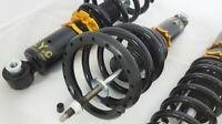 SYC FULL ADJUSTABLE Coilover /SUSPENSION REAR PAIR FORD FALCON BA BF XR6 XR8 UTE