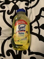 lysol clean and fresh multi surface cleaner
