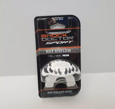 Shock Doctor - Sport Max Airflow Mouth Guard - White Fangs | Sealed New
