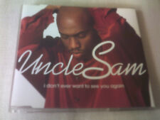 UNCLE SAM - I DON'T EVER WANT TO SEE YOU AGAIN - R&B CD SINGLE