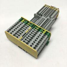 Lot of Allen Bradley Feed-Thru Cage Clamp Terminal Blocks 1492-L4Q, LS2-3, L3