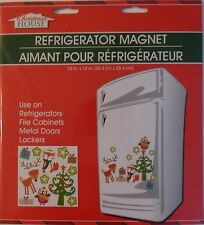 New Christmas House Refrigerator, Car, Dishwasher, Metal Doors Magnets ~ Tree