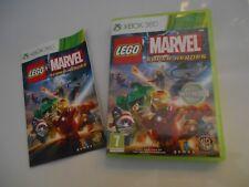 Jeu Microsoft Xbox 360 LEGO MARVEL Super heroes complet très bon état