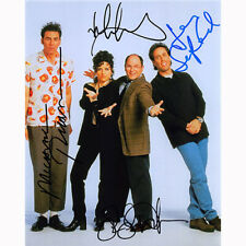 Seinfeld Cast by 4 (61506) - Autographed In Person 8x10 w/ COA