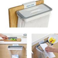 CLEARANCE- Plastic Kitchen Garbage Bin Bag Storage Hanging Bracket Trash Holder