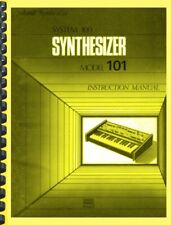 Roland System 100 Model 101 Synthesizer OWNER'S MANUAL and SERVICE MANUAL