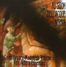 Gavin Bryars: Madrigals-Al Suon Dell'acque Scriva, New Music