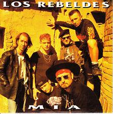 CD SINGLE los REBELDES mia SPANISH 1993  ROCKABILLY