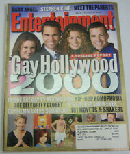 Entertainment Weekly Magazine Gay Hollywood 2000 October 2000 021513R