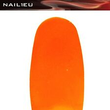 "PROFESSIONALE GEL COLORATO "" arancione neon "" 5 ML nail1eu / UV UNGHIE Color"