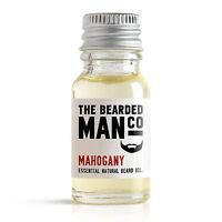 Mahogany The Bearded Man Co Beard Oil 10ml - Mustache Moustache Movember Tash