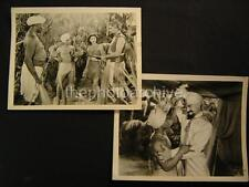 40s Sabu VINTAGE 2 Movie PHOTO LOT 622A
