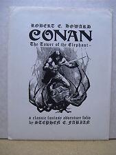 Stephen E. Fabian: Conan - Tower of the Elephant Portfolio (sign./nbrd.)(USA)