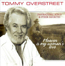 """TOMMY OVERSTREET """"Heaven Is My Woman's Love"""" NEW SEALED CD * 20 Hits & Favorites"""