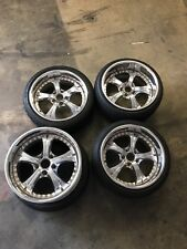 SSR Vienna Courages JDM Wheels 17x8.25 17x9.50 5x114.3 s14 s15 miata works BBS