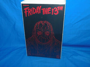 Friday The 13th Bloodbath Leather Edition, NM+ 9.6 Avatar Black with Red Foil