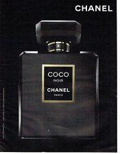 PUBLICITE ADVERTISING 027  2012   parfum Coco Noir par Chanel