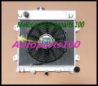 For BMW radiator and thermo fan E30 M10 316i 318i 1982-1991 Manual Aluminum