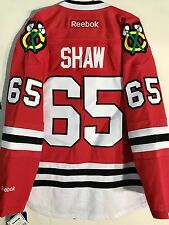 Reebok Premier NHL Jersey Chicago Blackhawks Andrew Shaw Red sz XL