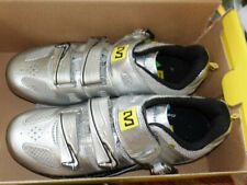 Mavic Galibier Road Bike Cycling Shoes Mens US Size 5.5 EUR 38 Silver/Black New