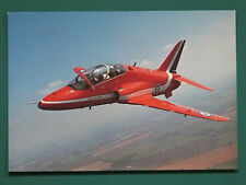 RED ARROWS HAWK OLD POSTCARD UNUSED COLLECTORS