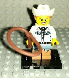 Lego Genuine Minifigure Plate /& Accessories Cowgirl Series 8 CMF