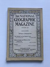 National Geographic Magazine - September 1915 - The Warfare On Our Eastern Coast