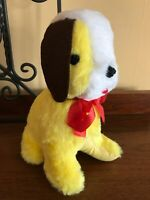 Vintage Knickerbocker Animals of Distinction Stuffed Yellow Dog Joy Of A Toy